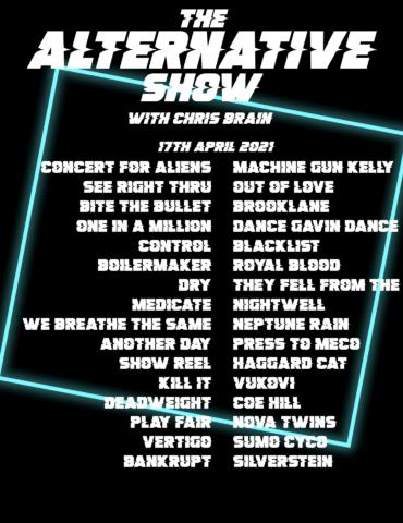 Alternative Show Tracklist