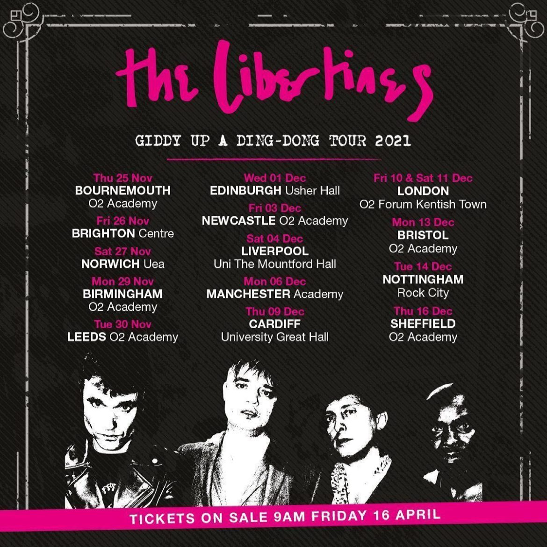 Libertines Tour Dates