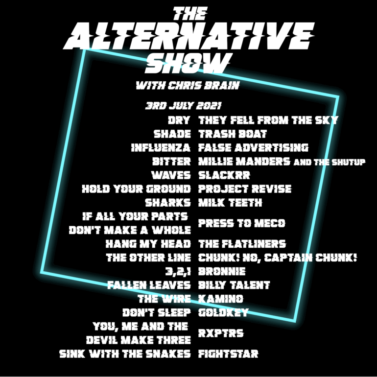 The Alternative Show 3rd July 2021