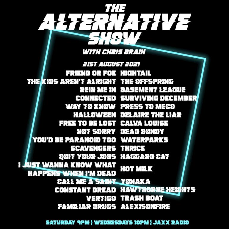 The Alternative Show 21/08/21